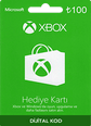 XBox Live Hediye Kartı 100 TL Microsoft Store ve Xbox 100 TL Gift Card Satın Al