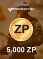 Cross Fire 5000 Z8 POINTS 5000 ZP Satın Al