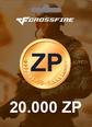 Cross Fire 20.000 Z8 POINTS 20.000 ZP Satın Al