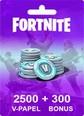 Fortnite 2500 V-Papel + 300 Bonus