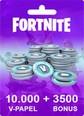 Fortnite 10000 V-Papel + 3500 Bonus