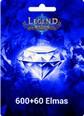 Legend Online 600 +60 Bonus Elmas 660 Elmas (Reborn da çalışmaz) Satın Al