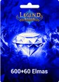 Legend Online 600 +60 Bonus Elmas