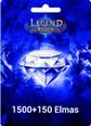 Legend Online 1500 +150 Elmas