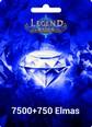 Legend Online 7500 +750 Elmas 8250 Elmas (Reborn da çalışmaz) Satın Al
