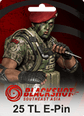 BlackShot SEA Papaya Play 25 TL Cash 290 Gem Satın Al