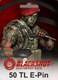 BlackShot SEA Papaya Play 50 TL Cash 580 Gem Satın Al