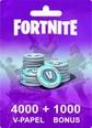 Fortnite 4000 V-Papel + 1000 Bonus