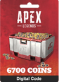 Apex Legends 6700 Coins Origin Key 6700 Apex Coins Origin PC Key Satın Al