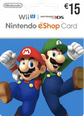 Nintendo eShop Gift Cards DE 15 Euro 15 Euro Satın Al