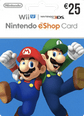 Nintendo eShop Gift Cards DE 25 Euro 25 Euro Satın Al