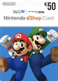 Nintendo eShop Gift Cards DE 50 Euro 50 Euro Satın Al