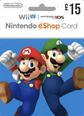 Nintendo eShop Gift Cards UK 15 GBP