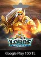 Google Play 100 TRY Lords Mobile Google Play 100 TRY Satın Al