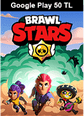 Brawl Stars Google Play 50 TL Bakiye