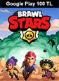 Brawl Stars Google Play 100 TL Bakiye