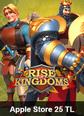 Apple Store 25 TL Rise Of Kingdoms Apple Store 25 TL Satın Al
