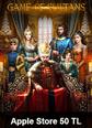 Apple Store 50 TL Bakiye Game Of Sultans Taht-ı Saltanat Apple Store 50 TL Bakiye Satın Al