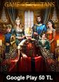 Google Play 50 TL Bakiye Game Of Sultans Taht-ı Saltanat Google Play 50 TL Bakiye Satın Al