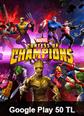 Google Play 50 TL Bakiye MARVEL Şampiyonlar Turnuvası Google Play 50 TL Satın Al