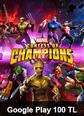 Google Play 100 TL Bakiye MARVEL Şampiyonlar Turnuvası Google Play 100 TL Satın Al