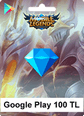 Mobile Legends Bang Bang Google Play 100 TL