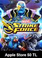 Apple Store 50 TL MARVEL Strike Force Apple Store 50 TL Satın Al
