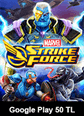 MARVEL Strike Force Google Play 50 TL Bakiye