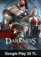 Google Play 25 TL Bakiye Darkness Rises Google Play 25 TL Bakiye Satın Al