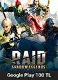 Google Play 100 TL RAID Shadow Legends Google Play 100 TL Satın Al