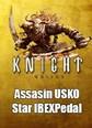 Assasin USKO Star IBEXPedal AS-115 Ibex Satın Al