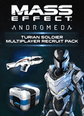 Mass Effect Andromeda Turian Soldier Multiplayer Recruit Pack DLC Origin Key