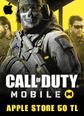 Apple Store 50 TL Bakiye Call Of Duty Mobile (CP) Apple Store 50 TL Bakiye Satın Al