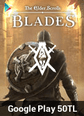 The Elder Scrolls Blades Mobile Google Play 50 TL Bakiye 50 TL Google Play Bakiye Satın Al