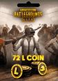 PUBG Lite 72 L Coin 72 L Coin (PC Versiyonudur) Satın Al