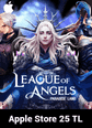 League of Angels Paradise Land Apple Store 25 TL Bakiye 25 TL iTunes Bakiye Satın Al