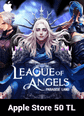 League of Angels Paradise Land Apple Store 50 TL Bakiye 50 TL iTunes Bakiye Satın Al