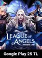 League of Angels Paradise Land Google Play 25 TL Bakiye 25 TL Google Play Bakiye Satın Al