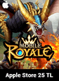 Mobile Royale Crystals Apple Store 25 TL Bakiye