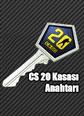 CS20 Kasası Anahtarı CS20 Case Key Satın Al