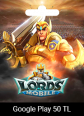Lords Mobile Google Play 50 TRY