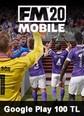 Football Manager 2020 Mobile Google Play 100 TL Bakiye
