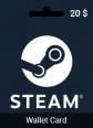 20 USD Steam Wallet Card