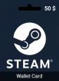 50 USD Steam Wallet Card