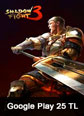 Shadow Fight 3 Mobile Google Play 25 TL