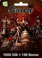 SilkRoad Online 1000 +100 Silk Bonus