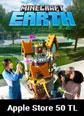 Apple Store 50 TL Minecraft Earth (Minecoins) Apple Store 50 TL Satın Al