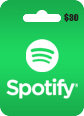 Spotify Gift Card 30 USD Spotify $30 USD Gift Card Satın Al