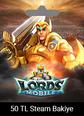 Steam Cüzdan Kodu 50 TRY Lords Mobile Steam Cüzdan Kodu 50 TRY Satın Al