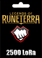 Legends of Runeterra 2500 LoRa 2500 LoRa Satın Al